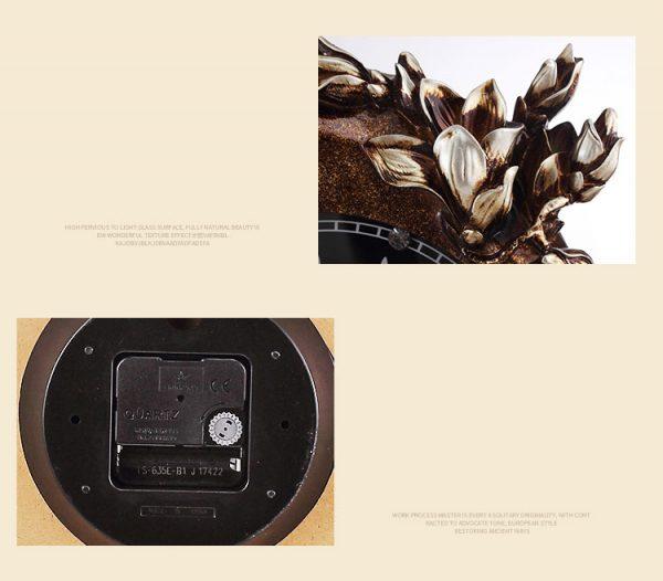Đồng hồ treo tường trang trí 3D - Z8076