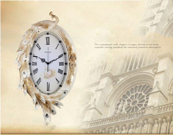 """Đồng hồ treo trang trí tạo hình """"Phượng Hoàng"""" KZ802B"""