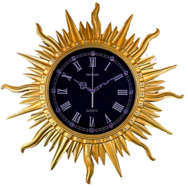 """Đồng hồ treo tường trang trí tạo hình """"Ông Mặt Trời"""" DZ301"""